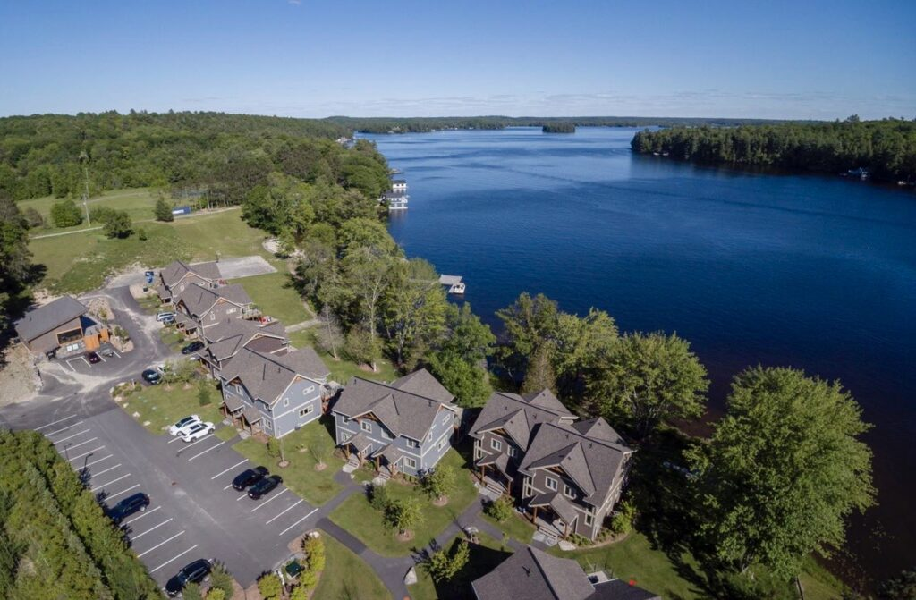 Villas of Muskoka Aerial View